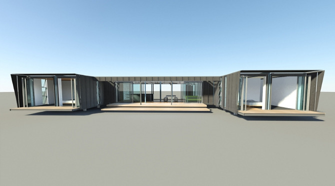 Muriwai maersk special projects for Beach box house plans